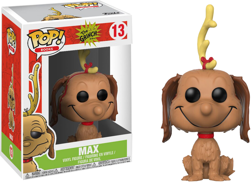 Pop! Books : The Grinch - Max The Dog - Sheldonet Toy Store