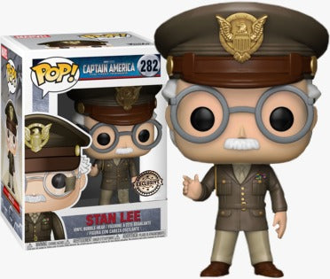 POP! Marvel: Stan Lee - Captain America: The First Avenger Cameo (Exclusive)