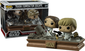 POP! Star Wars: Movie Moments - Luke and Leia in Trash Compactor (Exclusive) - Sheldonet Toy Store