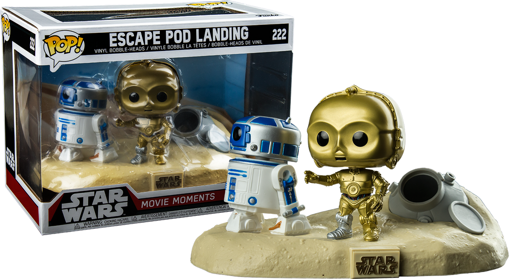 POP! Star Wars Movie Moments - Escape Pod Landing (Exclusive) - Sheldonet Toy Store