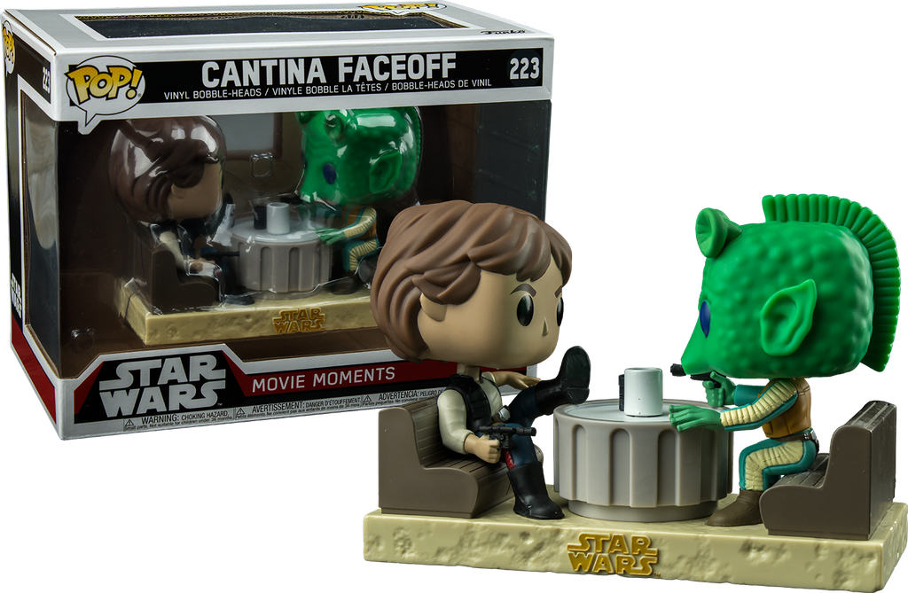 POP! Star Wars Movie Moments - Cantina Faceoff - Sheldonet Toy Store