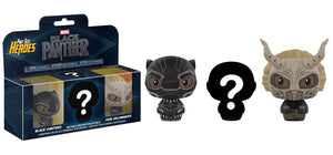 Pint Size Heroes: Marvel - Black Panther 3-Pack - Sheldonet Toy Store