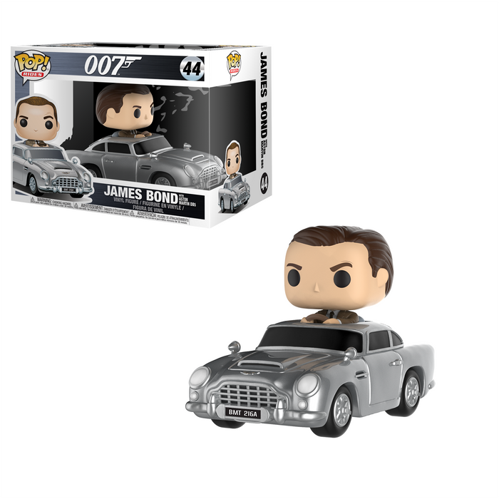 POP! Rides: 007 - James Bond with Aston Martin DB5