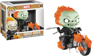 POP! Rides: Ghost Rider (Glow in The Dark) [Exclusive] - Sheldonet Toy Store