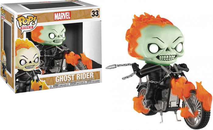 POP! Rides: Ghost Rider (Glow in The Dark) [Exclusive]