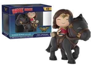 Dorbz Ridez: DC - Wonder Woman On Horse - Sheldonet Toy Store