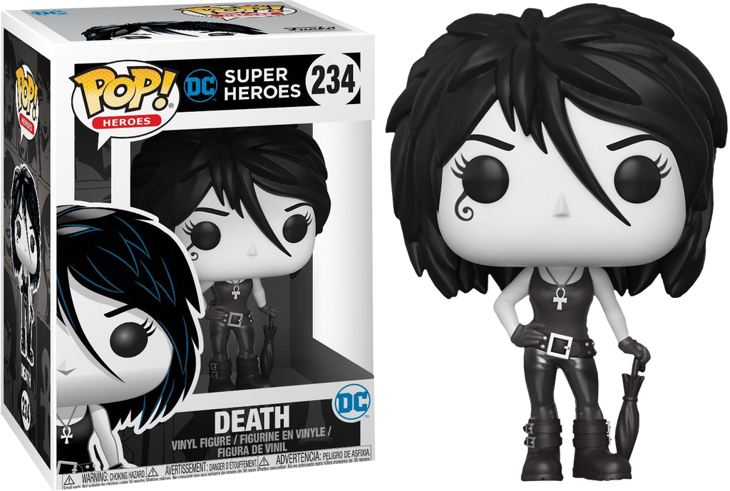 POP! Heroes : DC - Death [Exclusive] - Sheldonet Toy Store