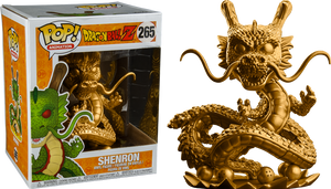 "POP! Animation: Dragon Ball Z- Shenron (Gold) Super Size 6"" Inch - Sheldonet Toy Store"