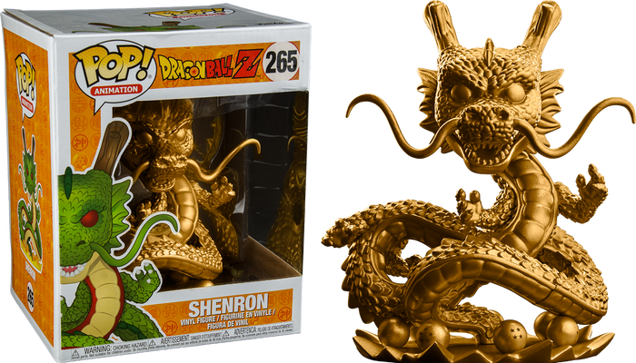 "POP! Animation: Dragon Ball Z- Shenron (Gold) Super Size 6"" Inch"
