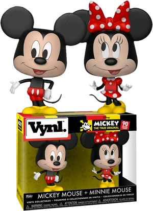 VYNL: Disney - Mickey & Minnie (2 Pack) - Sheldonet Toy Store