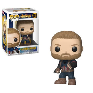 POP! Marvel Avengers Infinity War - Captain America with Weapon [Exclusive] - Sheldonet Toy Store