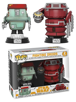 POP! Star Wars: Solo - Fighting Droids 2pk [Exclusive] - Sheldonet Toy Store