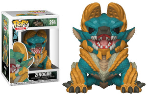 POP! Games: Monster Hunter - Zinogre - Sheldonet Toy Store