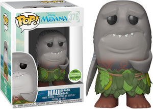 POP! Disney : Moana - Maui with Shark Head [ECCC 2018 Spring Convention] - Sheldonet Toy Store