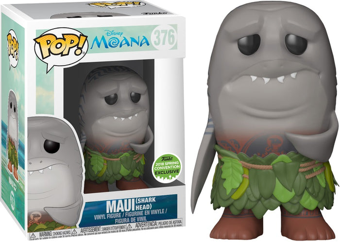POP! Disney : Moana - Maui with Shark Head [ECCC 2018 Spring Convention]