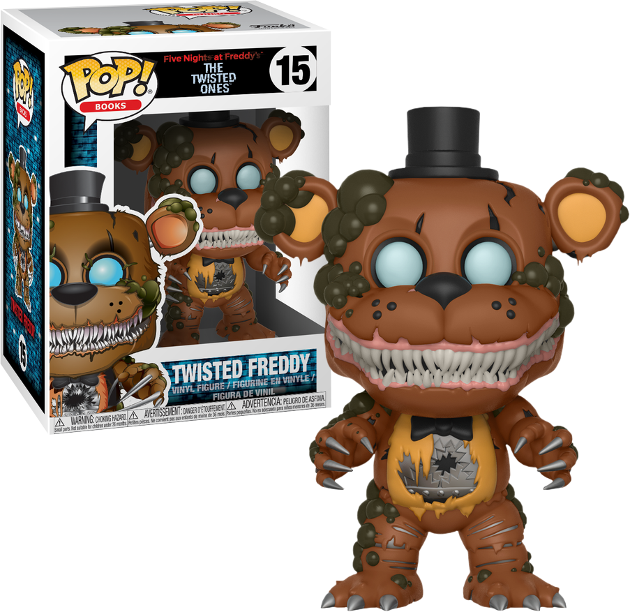 POP! Books: Five Nights at Freddy's The Twisted Ones - Twisted Freddy - Sheldonet Toy Store