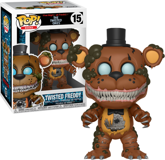 POP! Books: Five Nights at Freddy's The Twisted Ones - Twisted Freddy