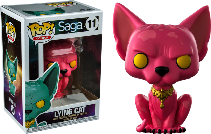Pop! Comics: Saga - Lying Cat [Exclusive]