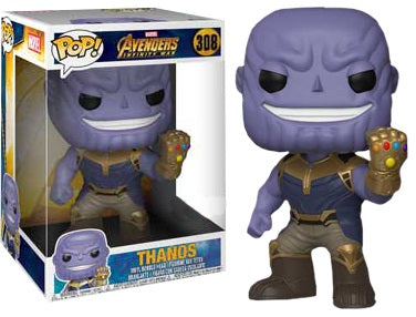 "POP! Marvel Avengers Infinity War - Thanos 10"" Inch - Sheldonet Toy Store"