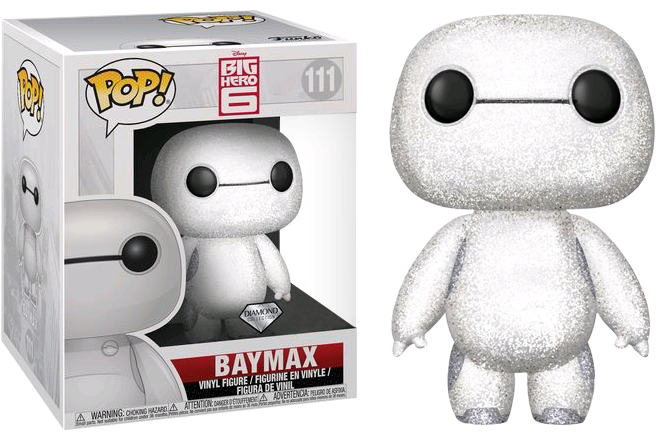 "Pop! Disney: Big Hero 6 - 6"" inch Nurse Baymax Glitter [Exclusive] - Sheldonet Toy Store"