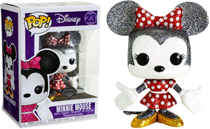POP! Disney : Minnie Mouse Diamond Glitter [Exclusive] - Sheldonet Toy Store