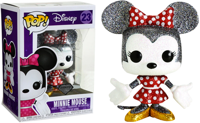 POP! Disney : Minnie Mouse Diamond Glitter [Exclusive]