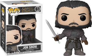 Pop! Television: Game Of Thrones - Jon Snow (Beyond The Wall) - Sheldonet Toy Store