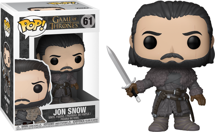 Pop! Television: Game Of Thrones - Jon Snow (Beyond The Wall)