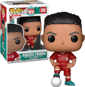 POP! EPL Football: Liverpool - Roberto Firmino - Sheldonet Toy Store