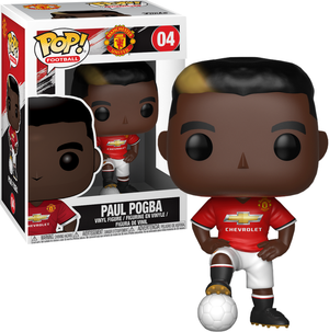 POP! EPL Football: Manchester United - Paul Pogba - Sheldonet Toy Store