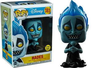 POP! Disney : Hercules - Hades (Glow In The Dark) [Exclusive] - Sheldonet Toy Store