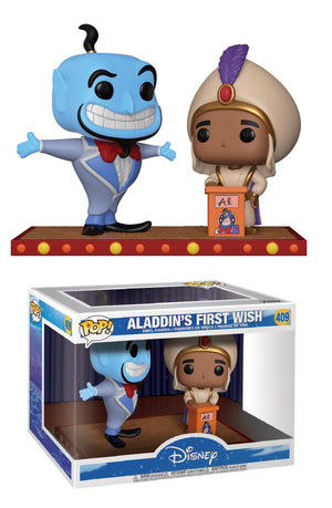 POP! Disney : Movie Moments - Aladdin's First Wish - Sheldonet Toy Store