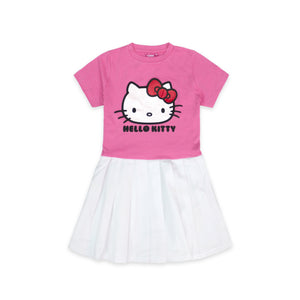 [HELLO KITTY CUTENESS DRESS BUNDLE] Pop! Sanrio: Hello Kitty - Kaiju Collab (Robot Kitty) [SDCC Summer Convention 2020] + Hello Kitty Girl Pleated Dress