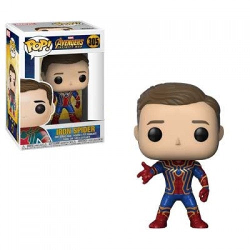 POP! Marvel Avengers Infinity War - Iron Spider Unmasked (Exclusive)
