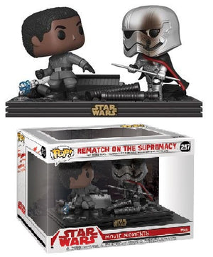 POP! Star Wars: Episode 8 Movie Moments - Rematch On The Supremacy Duel - Sheldonet Toy Store