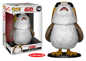 "POP! Star Wars: Episode VIII - Porg 10"" Inch [Exclusive] - Sheldonet Toy Store"