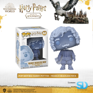 Pop! Movies: Harry Potter - Nearly Headless Nick - Sheldonet Toy Store