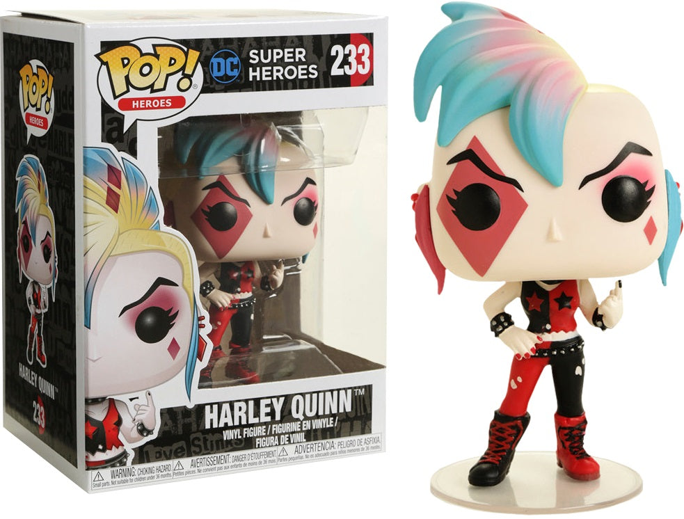 POP! Heroes : DC - Punk Harley Quinn [Exclusive] - Sheldonet Toy Store
