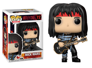 POP! Rocks: Mötley Crüe - Mick Mars - Sheldonet Toy Store