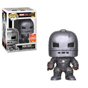 Pop! Marvel : Marvel Studios - Iron Man Mark 1 [SDCC 2018 Exclusive] - Sheldonet Toy Store