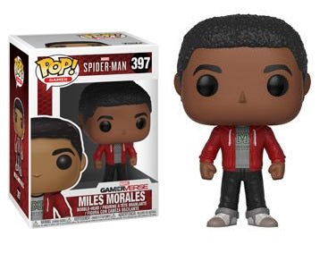 POP! Games: Marvel - Spider-man - Miles Morales - Sheldonet Toy Store