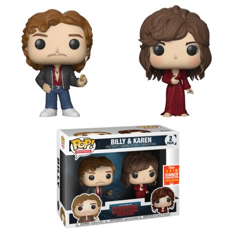 POP! TV: Stranger Things - Billy & Karen 2PK [SDCC 2018 Exclusive]