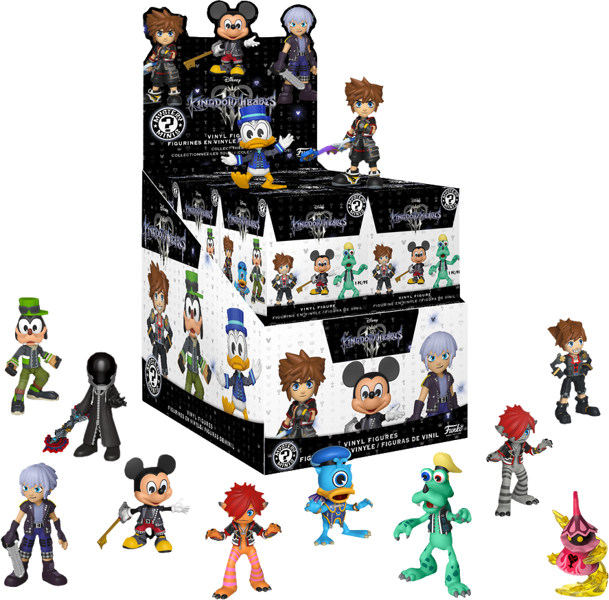 Mystery Minis Blind Box - Kingdom Hearts III (Exclusive) - Sheldonet Toy Store