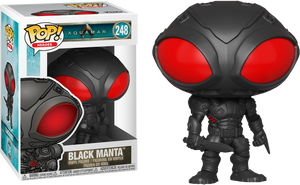 Pop! Heroes: Aquaman - Black Manta - Sheldonet Toy Store