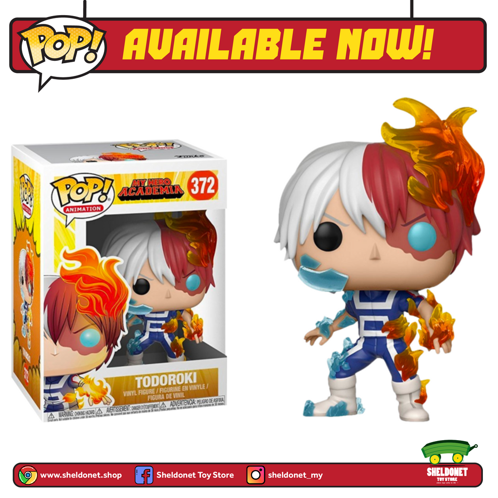 Pop! Animation: My Hero Academia - Todoroki - Sheldonet Toy Store