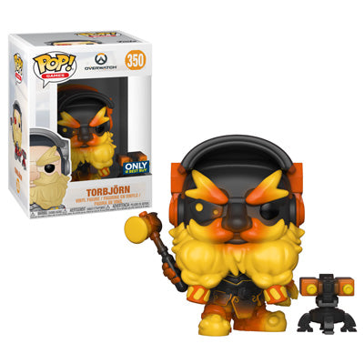 POP! Games: Overwatch Torbjörn (Molten Core) [Exclusive]