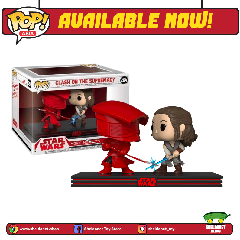 Pop! Movie Moments: Star Wars - Clash Of The Supremacy (Rey)