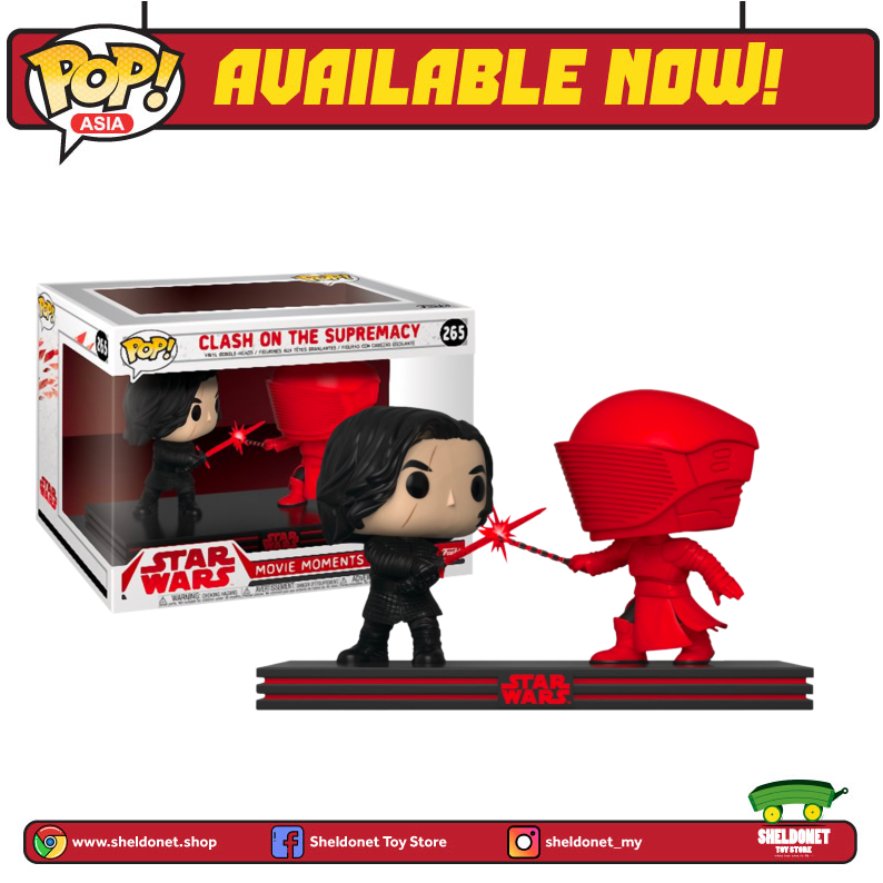 Pop! Movie Moments: Star Wars - Clash of The Supremacy (Kylo Ren)
