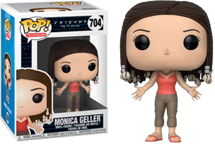 POP! TV: Friends - Monica Geller with Braids
