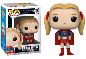 Pop! TV: Friends - Phoebe as Supergirl - Sheldonet Toy Store